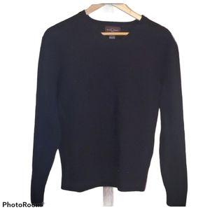 Black Brown 1826 Lambswool Sweater